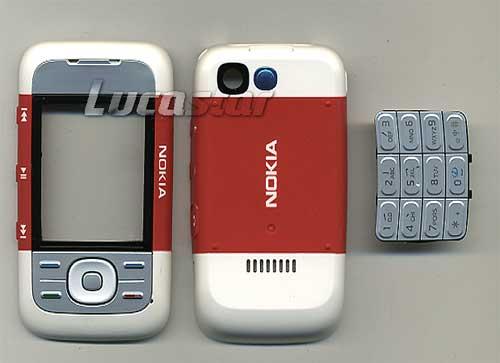 0448ef9ef90 Carcasa Nokia : CARCASA NOKIA 5200 ROJA
