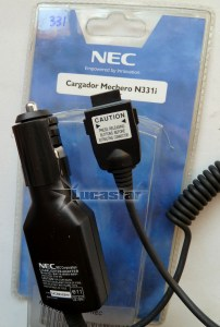Car-charger-Nec-N331i